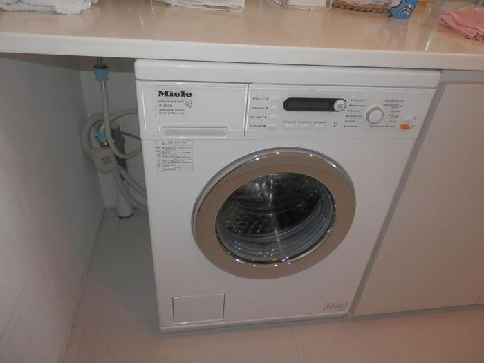 2015/11/21 神奈川県横浜市 洗濯機交換工事 (ミーレ:W5820WPS)