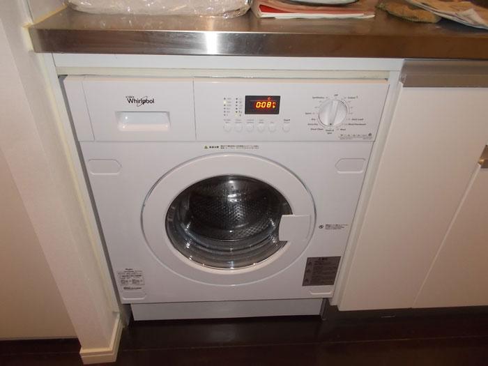 2017/09/11 東京都渋谷区 洗濯乾燥機交換工事(ワールプール:AWI74140JA)