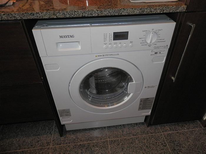 2018/2/9 東京都江東区 洗濯乾燥機交換工事(メイタッグ:MWI74140JA)