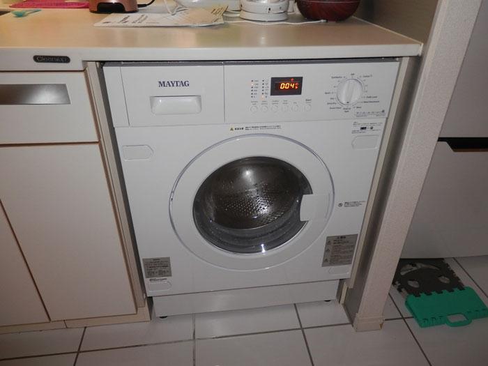 2018/07/31 東京都中央区 洗濯乾燥機交換工事(メイタッグ:MWI74140JA)