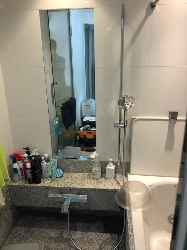 2020/09/01 東京都目黒区 ハンスグローエ シャワーシステムの交換工事